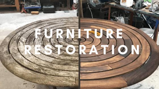 Garden Furniture Restoration service