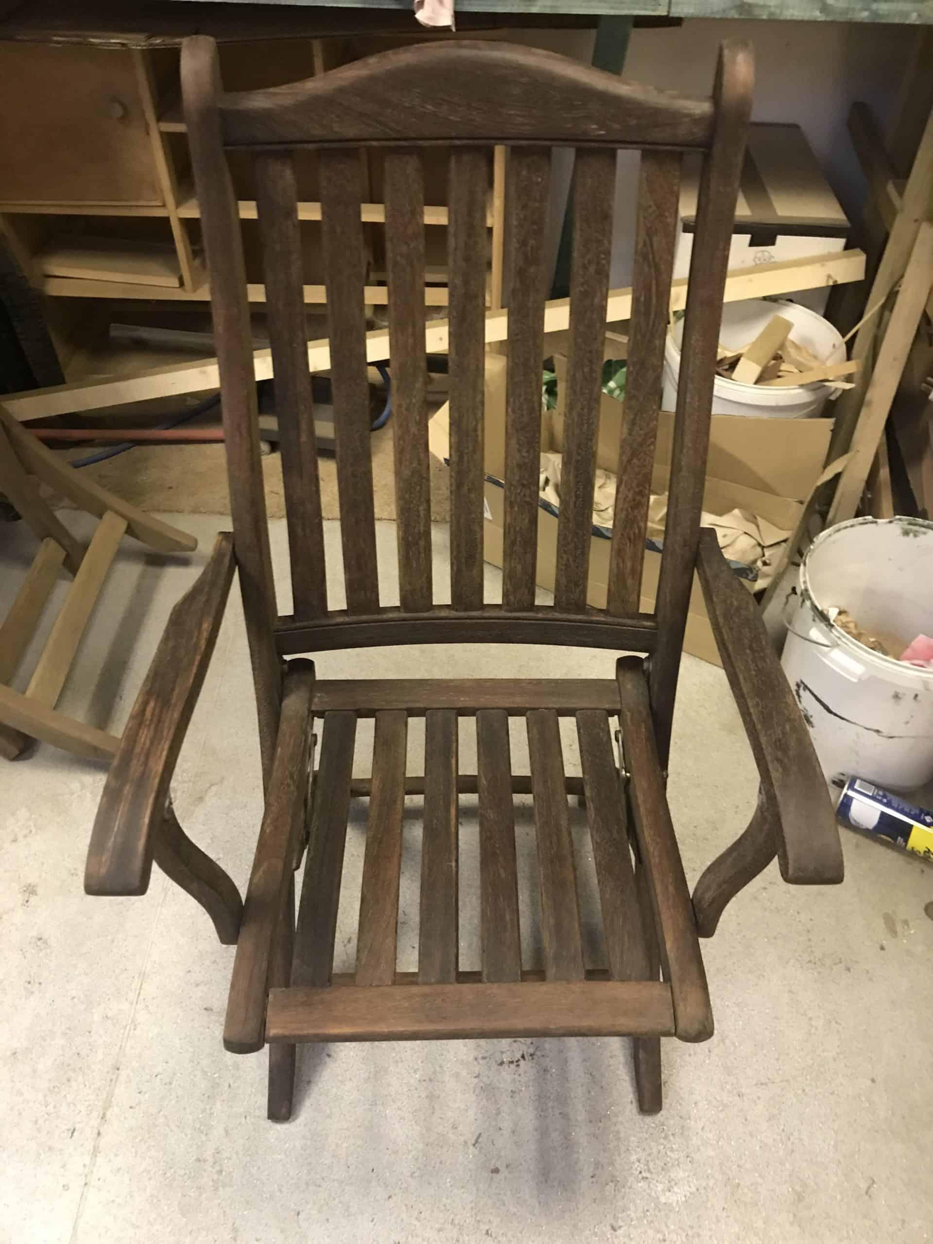 A Restored chair